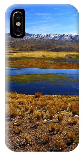Peru iPhone Case - High Altitude Reflections by FireFlux Studios