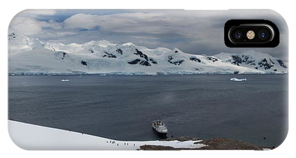 Glacier Bay iPhone Case - High Angle View Of A Harbor, Neko by Panoramic Images