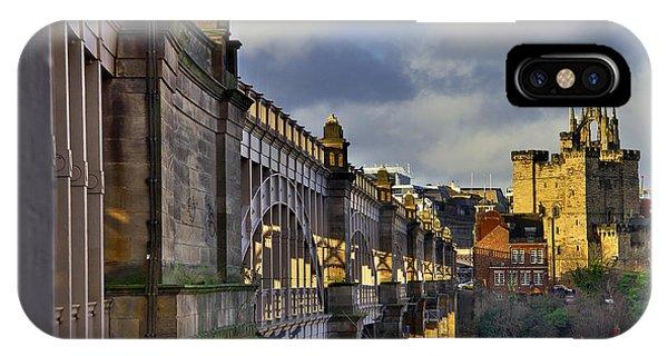 High Level Bridge Newcastle Upon Tyne Uk IPhone Case