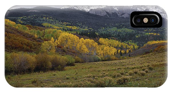High Country Autumn IPhone Case