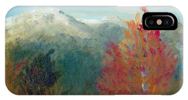 High Country View IPhone Case