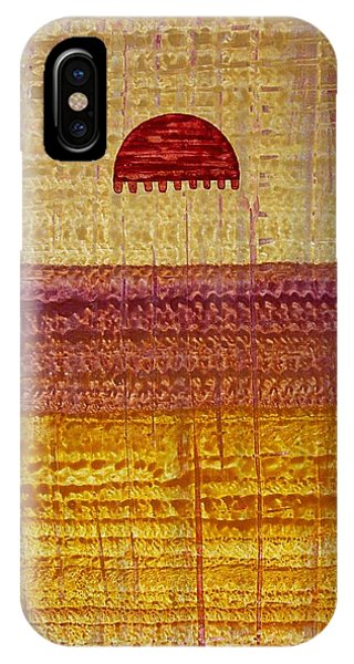 High Desert Horizon Original Painting IPhone Case