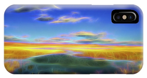 High Desert Lake IPhone Case