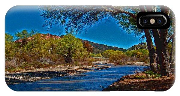 High Desert River Bed IPhone Case
