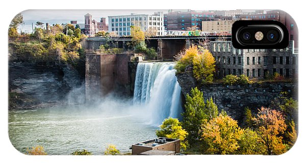 High Falls Rochester IPhone Case