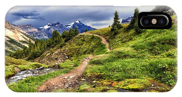High Mountain Trail IPhone Case