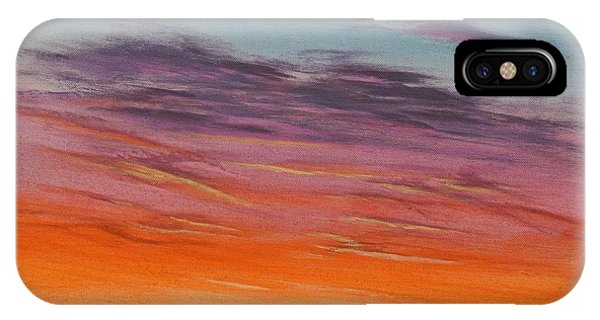 High Plains Sunset Phone Case by J W Kelly