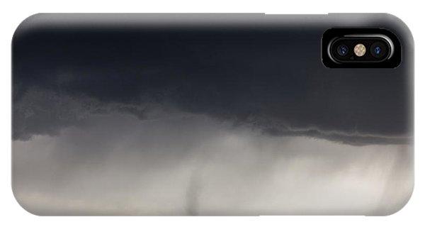 Greg Moore iPhone Case - High Plains Tornado by Greg Moore