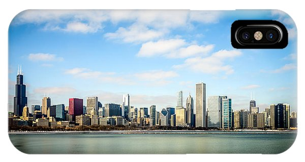 High Resolution Large Photo Of Chicago Skyline IPhone Case