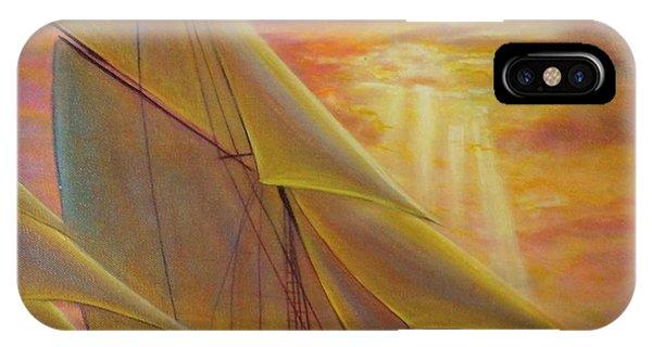 High Seas Sunset IPhone Case