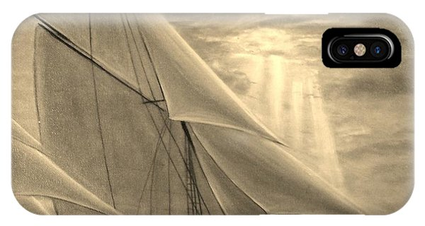 High Seas Sunset Study IPhone Case