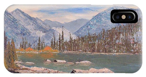 High Sierra Lake IPhone Case