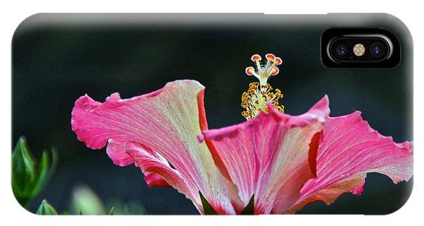 High Speed Hibiscus Flower IPhone Case