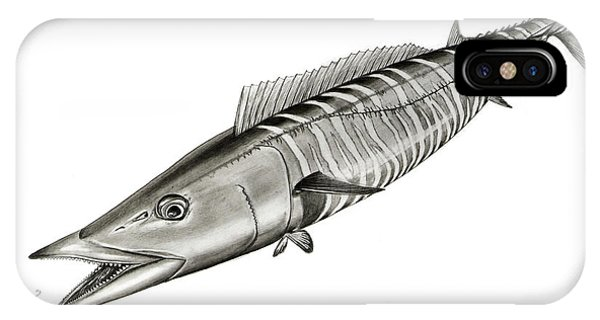 High Speed Wahoo IPhone Case