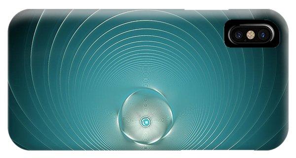 High Tech Modern Blue IPhone Case