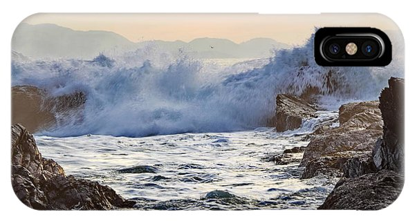 High Tide At Port Renfrew IPhone Case