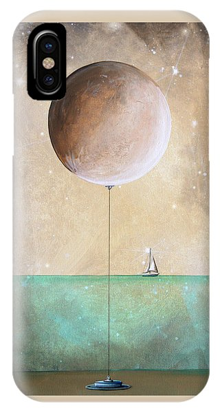 Moon iPhone Case - High Tide by Cindy Thornton