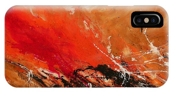 High Time - Abstract Art IPhone Case