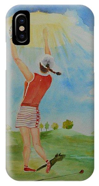 Highest Calling Is God Next Golf IPhone Case