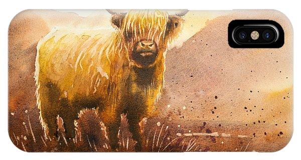 iPhone Case - Highland Cow 2 by Paul Dene Marlor