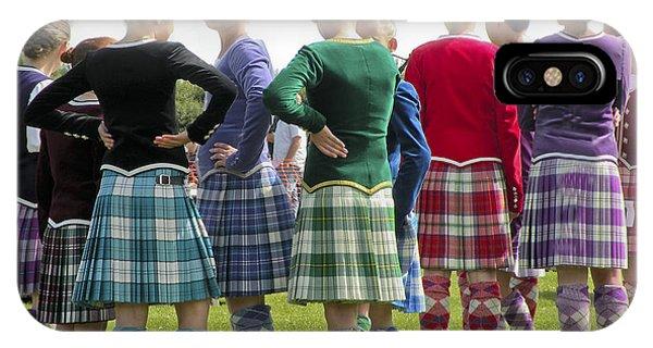 Highland Dancers Scotland IPhone Case