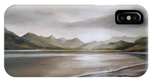 Highland Evening Phone Case by Sean Afford