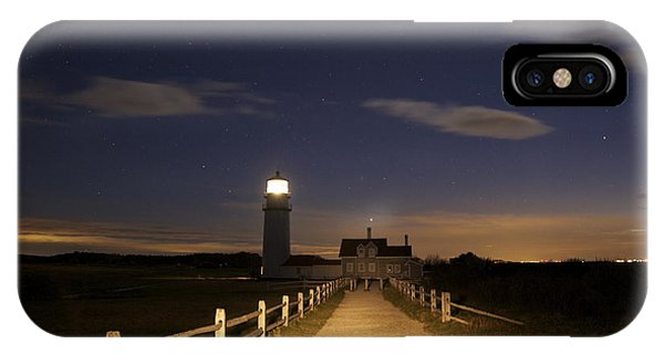 Highland Light North Truro IPhone Case