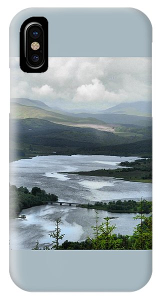 Highland Loch At Lochaber IPhone Case