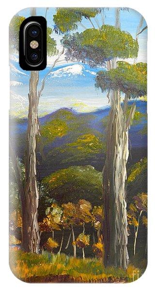 Highlands Gum Trees IPhone Case