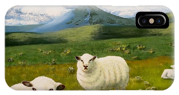 Highlands Sheep IPhone Case
