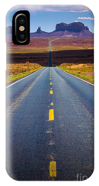 American Southwest iPhone Case - Highway 163 by Inge Johnsson
