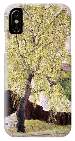 Highway Barn IPhone Case