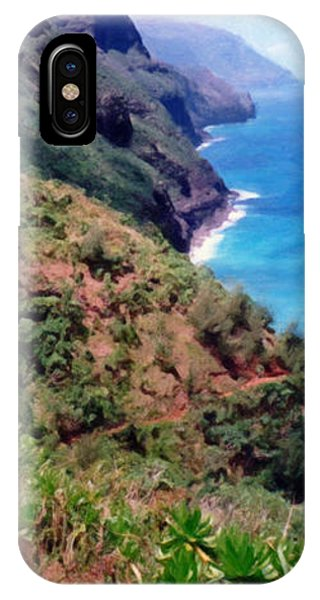 Trail To Kalalau IPhone Case