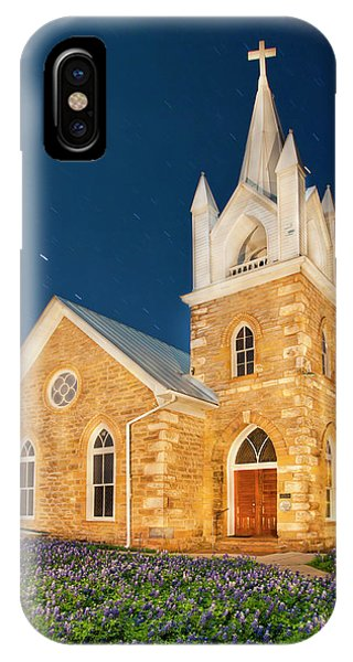 1862 iPhone Case - Hilda Methodist Church From 1862 by Larry Ditto