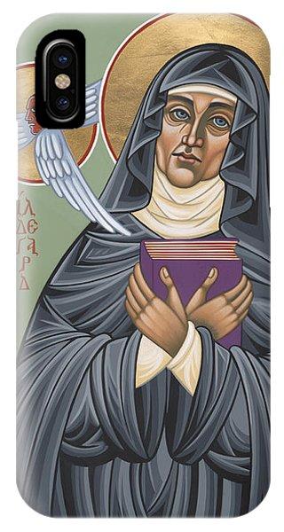 St. Hildegard Of Bingen 171 IPhone Case