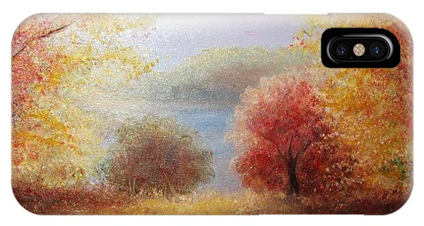 Hill Country Autumn IPhone Case