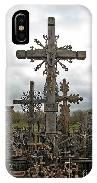 Hill Of Crosses 06. Lithuania.  IPhone Case