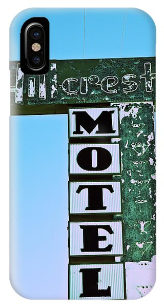 Hillcrest Motel IPhone Case