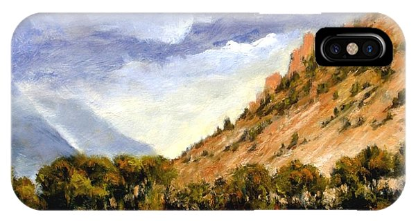 iPhone Case - Hills Of Jackson Wyoming by Jim Gola