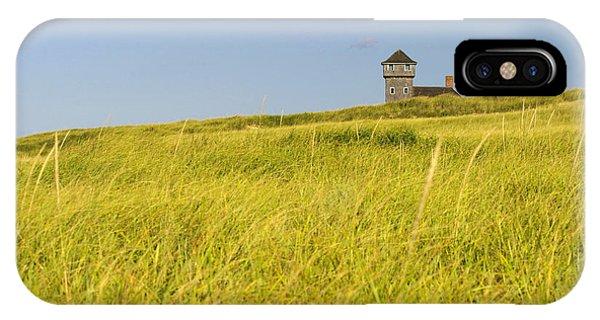 Hillside At The Beach In Truro IPhone Case