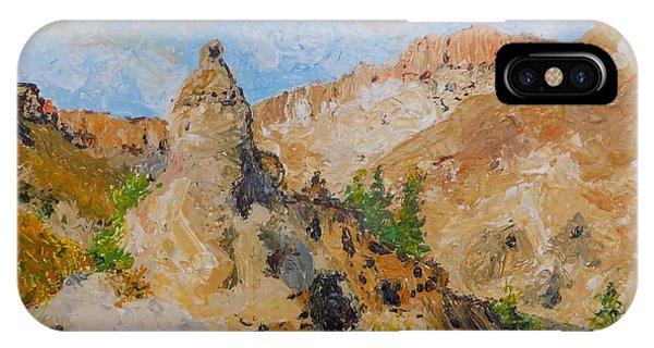 Hillside Church In Cappadocia IPhone Case
