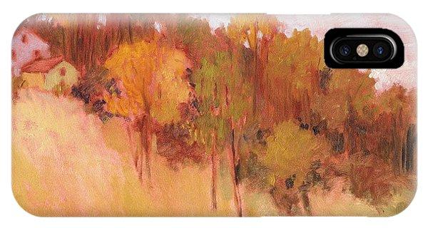 Hillside Trees IPhone Case