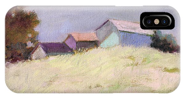 Hilltop Barns IPhone Case