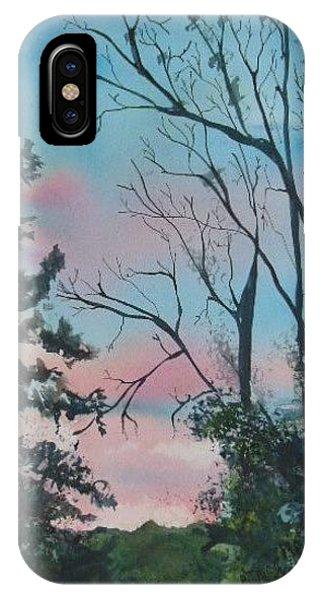 Hilltown Sunset IPhone Case
