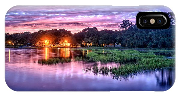 Hilton Head Evening Marsh IPhone Case