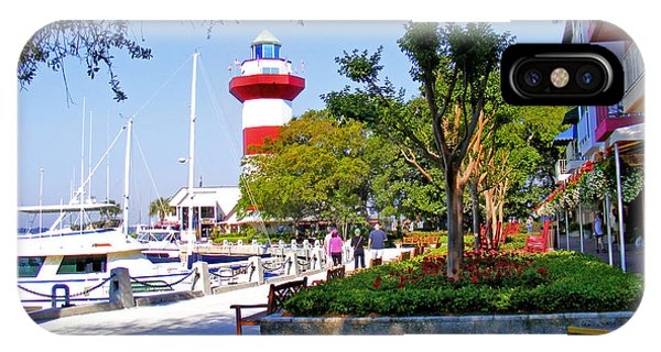 Hilton Head Lighthouse IPhone Case
