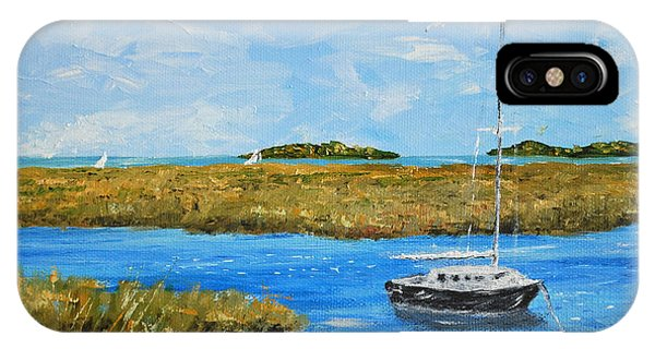 Hilton Head Mooring IPhone Case