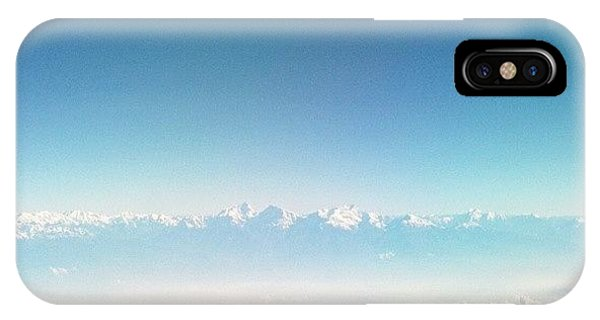 Beautiful Sunrise iPhone Case - Himalayas Range by Raimond Klavins