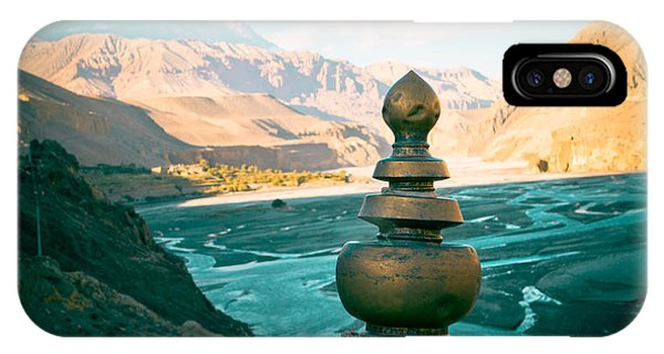 Himalayas Road To Upper Mustang  From Kagbeni IPhone Case