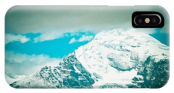 Himalyas Range Closeup View From Tibet IPhone Case